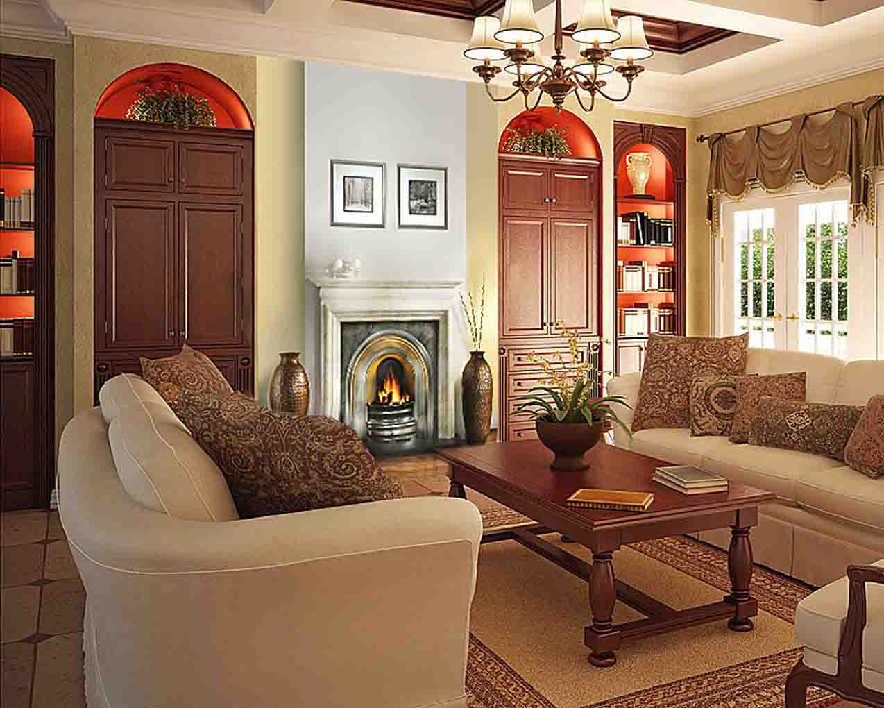 Home decor ideas home and living for Living room decorating ideas pictures